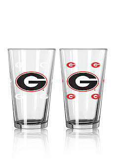Boelter 16-oz. NCAA Georgia 2-pack Color Change Pint Glass Set
