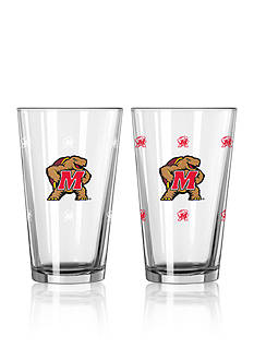 Boelter 16-oz. NCAA Maryland 2-pack Color Change Pint Glass Set
