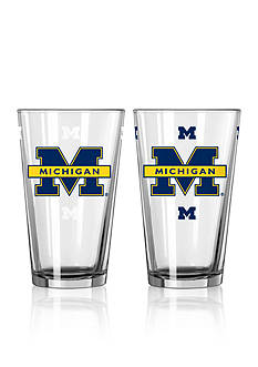 Boelter 16-oz. NCAA Michigan 2-Pack Color Change Pint Glass Set