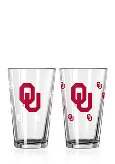 Boelter 16-oz. NCAA Oklahoma Sooners 2-pack Color Changing Pint Glass Set