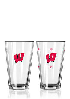 Boelter 16-oz. NCAA Wisconsin Badgers 2-pack Color Changing Pint Glass Set