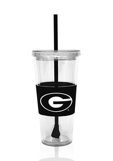 Boelter Georgia Bulldogs Tumbler with Lid and Straw