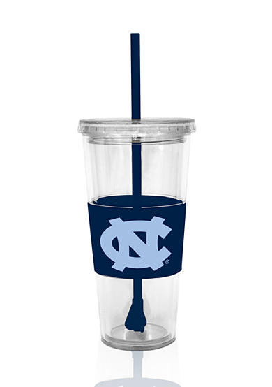 Boelter UNC Tar Heels Tumbler with Lid and Straw