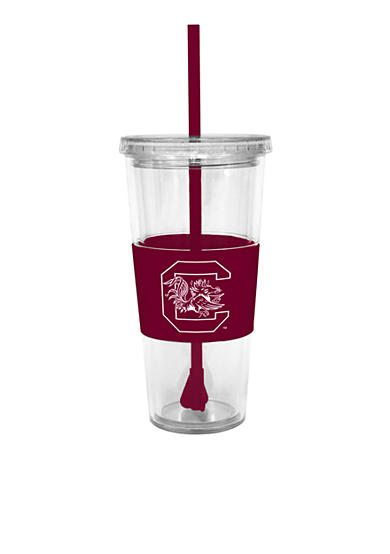 South Carolina Gamecocks Tumbler with Lid and Straw