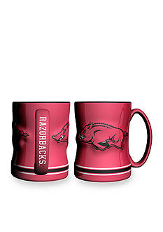 Boelter 14-oz. NCAA Arkansas Razorbacks 2-pack Relief Sculpted Coffee Mug Set