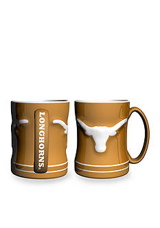 Boelter 14-oz. NCAA Texas Longhorns 2-pack Relief Sculpted Coffee Mug Set