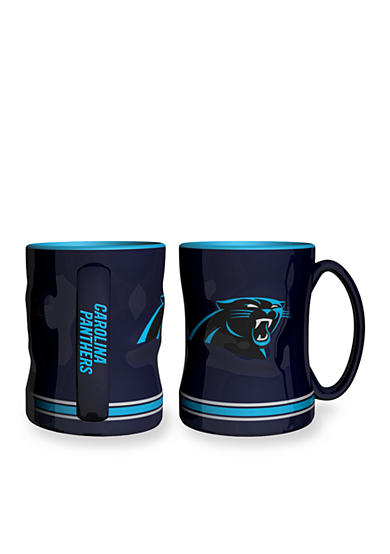 Boelter 14-oz. NFL Carolina Panthers 2-pack Relief Sculpted Coffee Mug Set