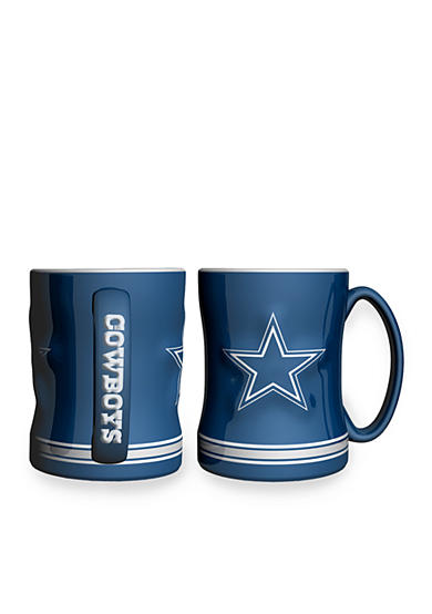 Boelter 14-oz. NFL Dallas Cowboys 2-pack Relief Sculpted Coffee Mug Set