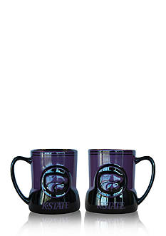 Boelter NCAA Kansas State Wildcats 2-pack Gametime Coffee Mug Set