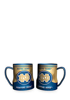 Boelter NCAA Notre Dame Fighting Irish 2-Pack Gametime Coffee Mug Set