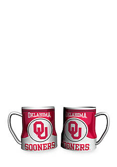 Boelter NCAA Oklahoma Sooners 2-pack Gametime Coffee Mug Set