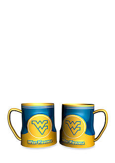 Boelter NCAA West Virginia Mountaineers 2-pack Gametime Coffee Mug Set