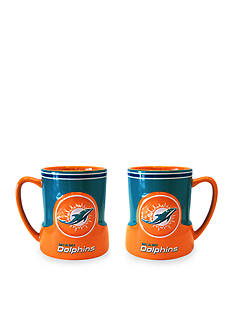 Boelter 18-oz. NFL Miami Dolphins 2-pack Gametime Coffee Mug Set
