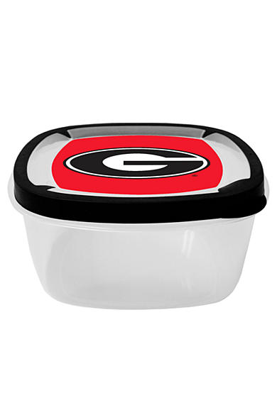 Georgia Bulldogs Large Square Container