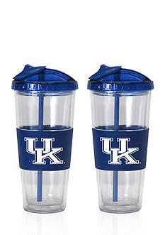 Boelter 22-oz. NCAA Kentucky Wildcats 2-pack No Spill Straw Tumbler