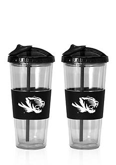 Boelter 22-oz. NCAA Missouri Tigers 2-pack No Spill Straw Tumbler