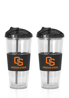Boelter 22-oz. NCAA Oregon State Beavers 2-pack No Spill Straw Tumbler