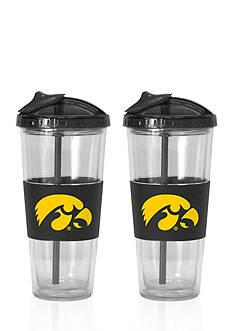 Boelter 22-oz. NCAA Iowa Hawkeyes 2-pack No Spill Straw Tumbler
