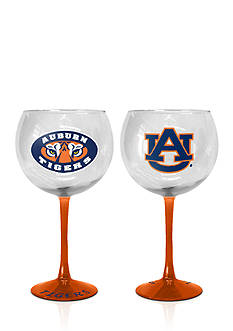 Boelter 20-oz. NCAA Auburn Tigers 2-pack Hand Crafted Balloon Wine Glass Set