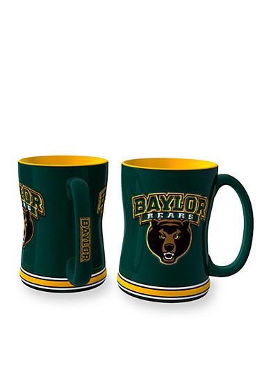 Boelter 14-oz. NCAA Baylor Bears 2-Pack Relief Sculpted Coffee Mug Set