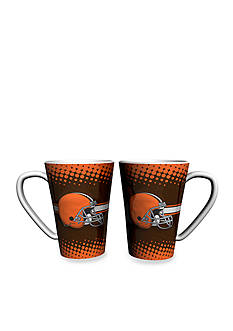 Boelter 16-oz. NFL Cleveland Browns 2-pack Latte Coffee Mug Set