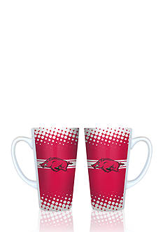 Boelter 16-oz. NCAA Arkansas Razorbacks 2-pack Latte Coffee Mug Set