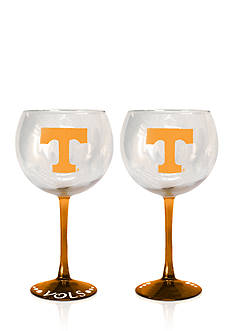 Boelter 20-oz. NCAA Tennessee Volunteers 2-pack Balloon Wine Glass Set