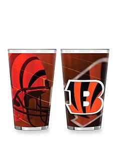 Boelter 16-oz. NFL Cincinnati Bengals 2-pack Shadow Sublimated Pint Glass Set