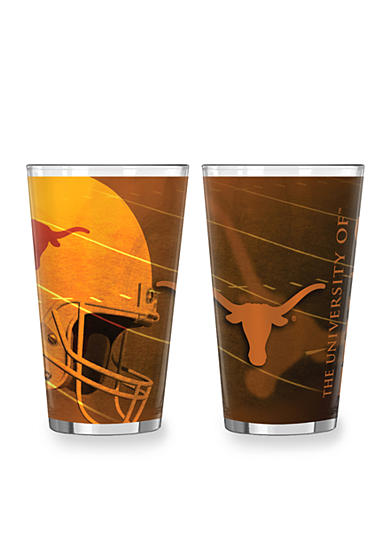 Boelter 16-oz. NCAA Texas Longhorns 2-Pack Shadow Sublimated Pint Glass Set