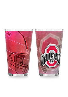 Boelter 16-oz. NCAA Ohio State Buckeyes 2-pack Shadow Sublimated Pint Glass Set