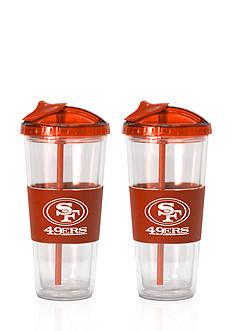 Boelter 22-oz. NFL San Francisco 49ers 2-pack No Spill Straw Tumbler