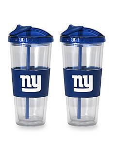 Boelter 22-oz. NFL New York Giants 2-pack No Spill Straw Tumbler