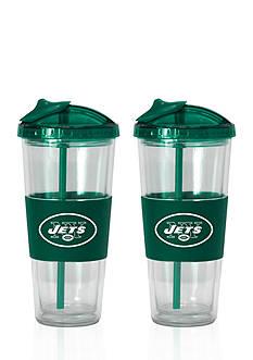 Boelter 22-oz. NFL New York Jets 2-pack No Spill Straw Tumbler