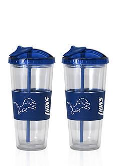 Boelter 22-oz. NFL Detroit Lions 2-pack No Spill Straw Tumbler
