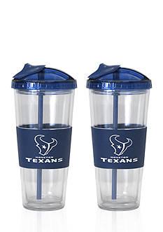 Boelter 22-oz. NFL Houston Texans 2-pack No Spill Straw Tumbler