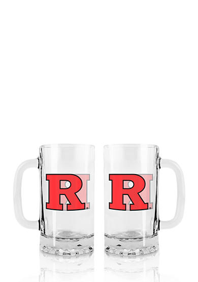 Boelter 16-oz. NCAA Rutgers Scarlet Knights 2-pack Glass Tankard Set