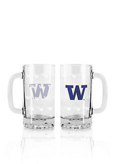 Boelter 16-oz. NCAA Washington Huskies 2-pack Glass Tankard Set