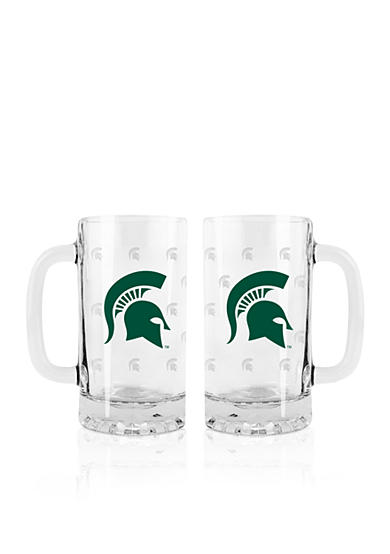 Boelter 16-oz. NCAA Michigan State Spartans 2-pack Glass Tankard Set