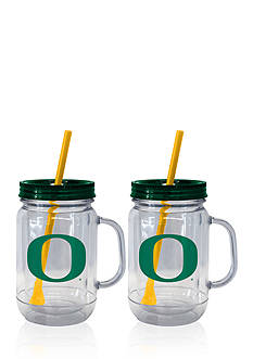 Boelter 20-oz. NCAA Oregon Ducks 2-pack Straw Tumbler with Handle