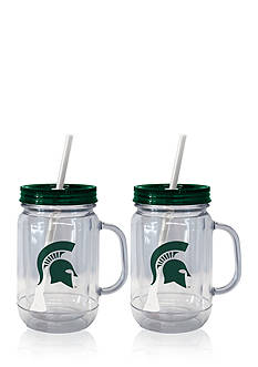 Boelter 20-oz. NCAA MSU Spartans 2-pack Straw Tumbler with Handle