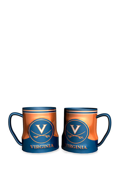 Boelter NCAA Virginia Cavaliers 2-pack Gametime Coffee Mug Set