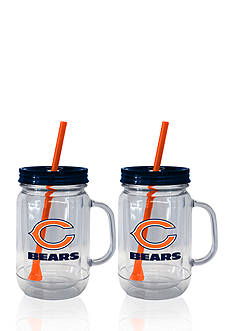 Boelter 20oz NFL Chicago Bears 2-pack Straw Tumbler with Handle