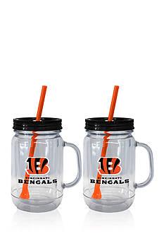 Boelter 20oz NFL Cincinnati Bengals 2-pack Straw Tumbler with Handle