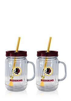 Boelter 20oz NFL Washington Redskins 2-pack Straw Tumbler with Handle