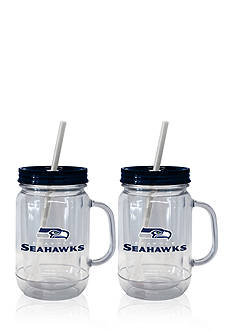 Boelter 20oz NFL Seattle Seahawks 2-pack Straw Tumbler with Handle
