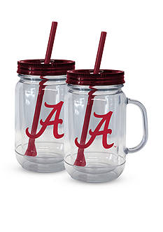 Boelter 20-oz. NCAA Alabama Crimson Tide 2-pack Straw Tumbler with Handle