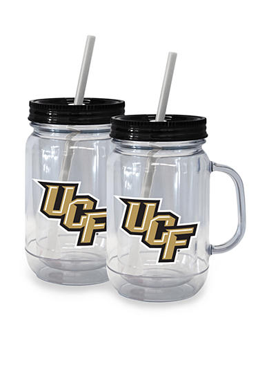 Boelter 20-oz. NCAA Central Florida Knights 2-Pack Straw Tumbler with Handle