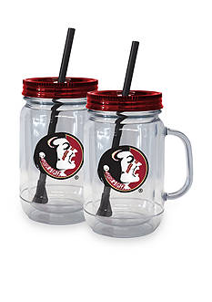Boelter 20-oz. NCAA Florida State Seminoles 2-Pack Straw Tumbler with Handle