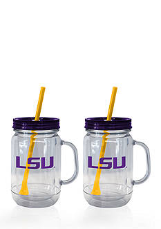 Boelter 20-oz. NCAA LSU Tigers 2-pack Straw Tumbler with Handle