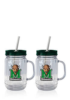 Boelter 20-oz. NCAA Marshall Thundering Herd 2-pack Straw Tumbler with Handle